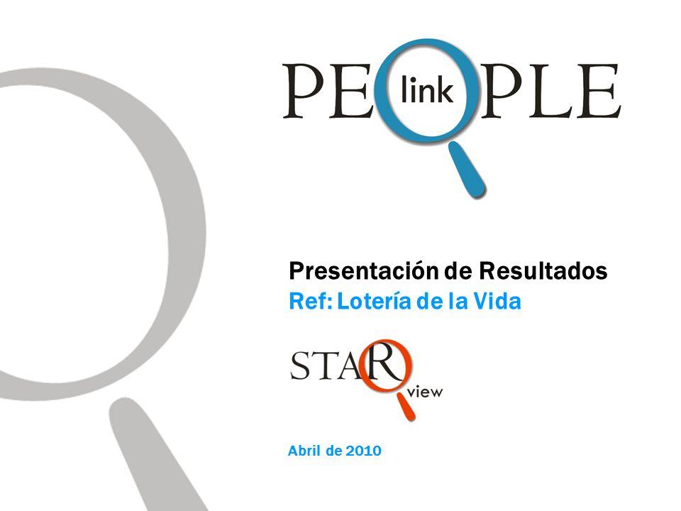 Presentación de Resultados Ref: Lotería de la Vida Abril de 2010