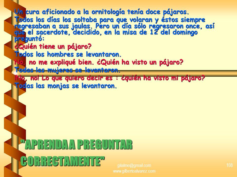 1/2/2014gilalme@gmail.com www.gilbertoalvarez.com 107