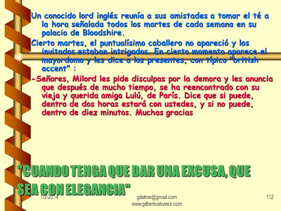 1/2/2014gilalme@gmail.com www.gilbertoalvarez.com 111