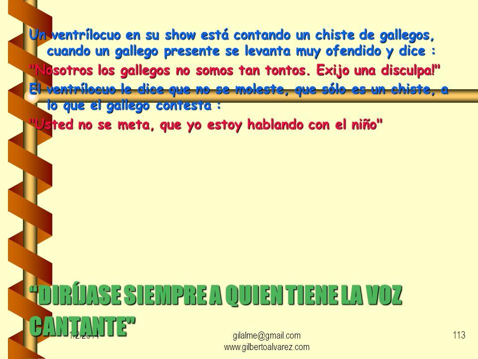 1/2/2014gilalme@gmail.com www.gilbertoalvarez.com 112