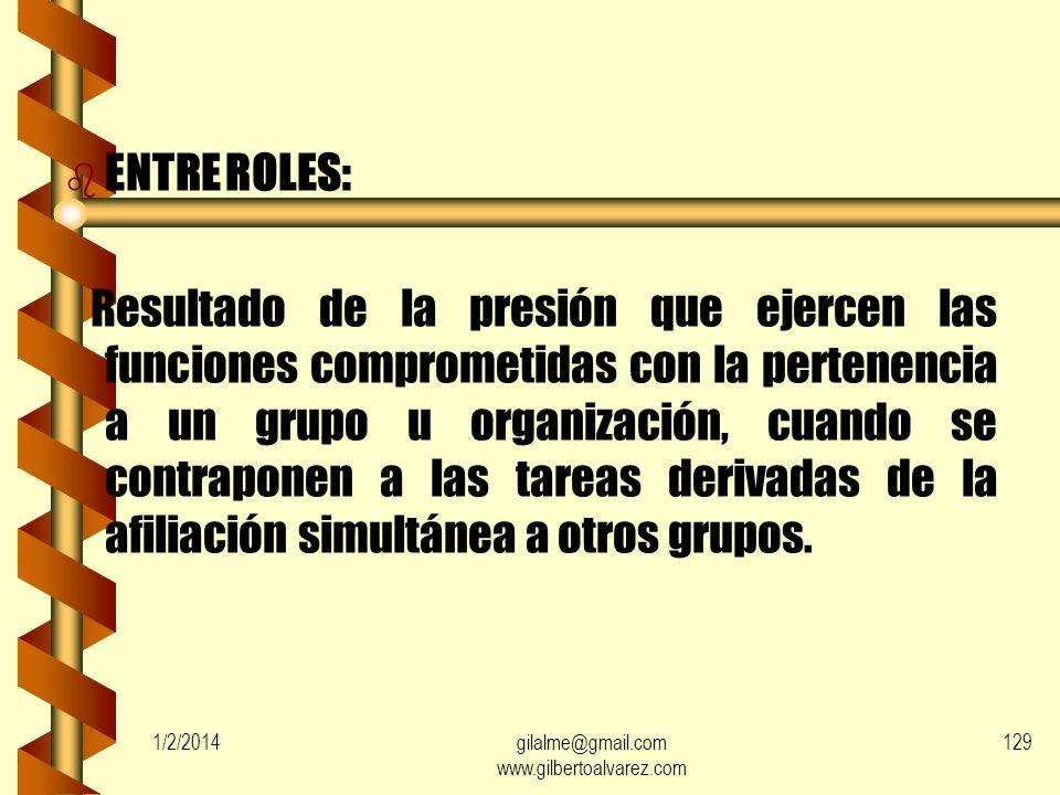 1/2/2014gilalme@gmail.com www.gilbertoalvarez.com 128 b ENTRE EMISORES: Resultado de la presión ejercida por un emisor de tareas, cuando éstas son inc