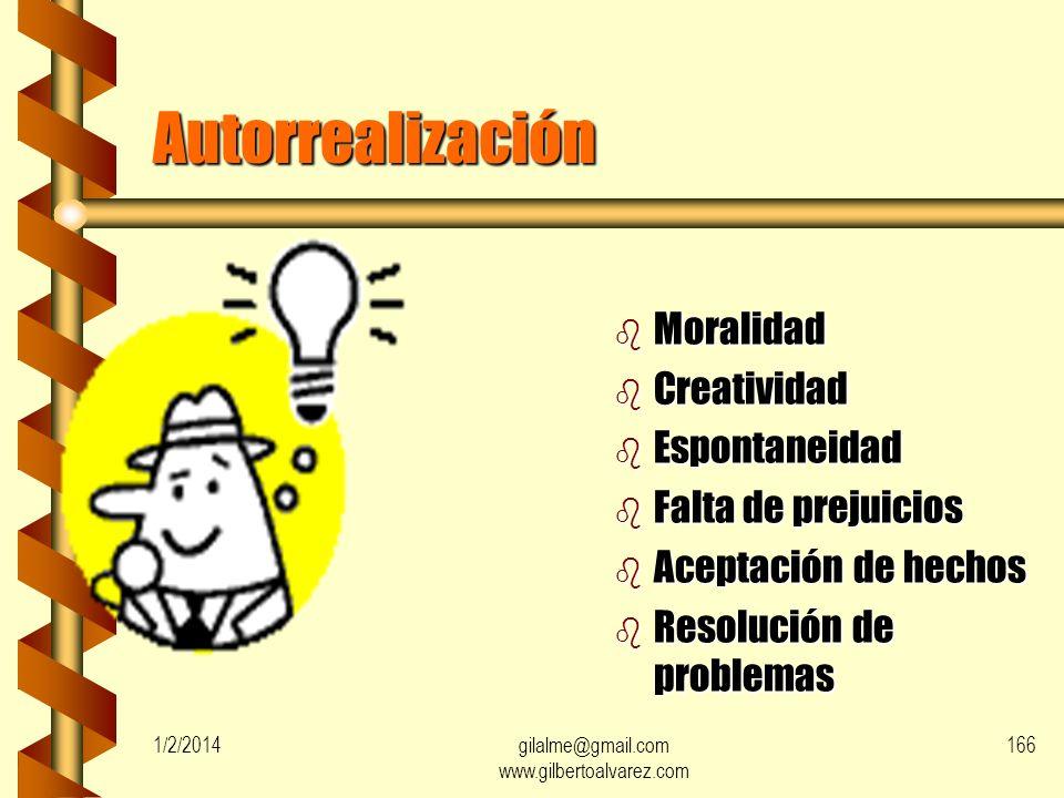 Reconocimiento b Auto reconocimiento b Confianza b Respeto b Éxito 1/2/2014165gilalme@gmail.com www.gilbertoalvarez.com