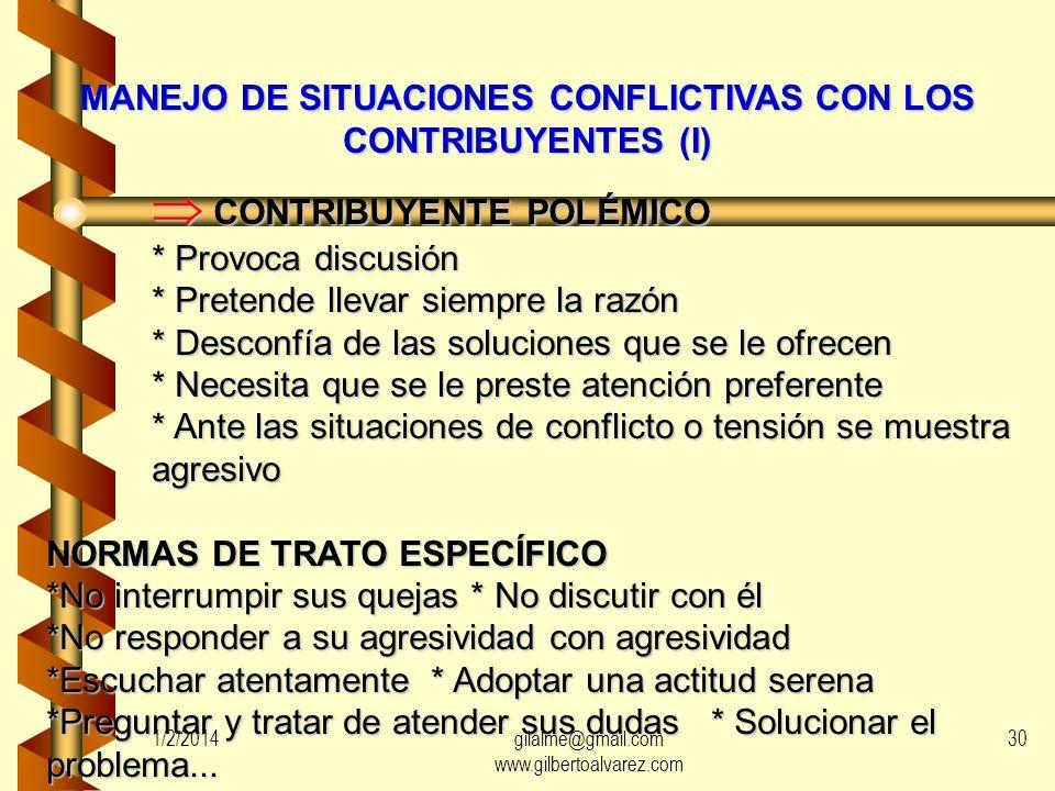 ETAPAS DE LA ATENCIÓN AL CONTRIBUYENTE RECEPCIÓN CONTACTO INICIAL SINTONÍA DESARROLLO INFORMACIÓN TRAMITACIÓN RESOLUCIÓN DE PROBLEMAS PROBLEMAS CONCLU