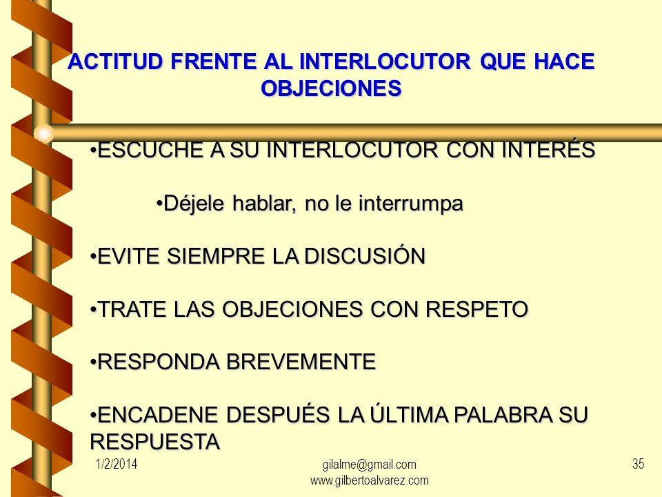 MANEJO DE SITUACIONES CONFLICTIVAS CON LOS CONTRIBUYENTES (V) EN TODOS LOS CASOS: EN TODOS LOS CASOS: DISTANCIA PROFESIONAL 1/2/201434gilalme@gmail.co