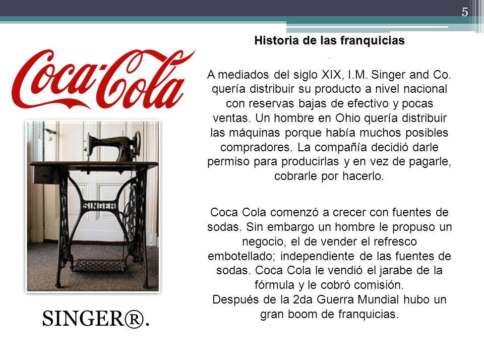 6 La Franquicia constituye un formato de negocios dirigido a la comercialización de bienes y servicios.
