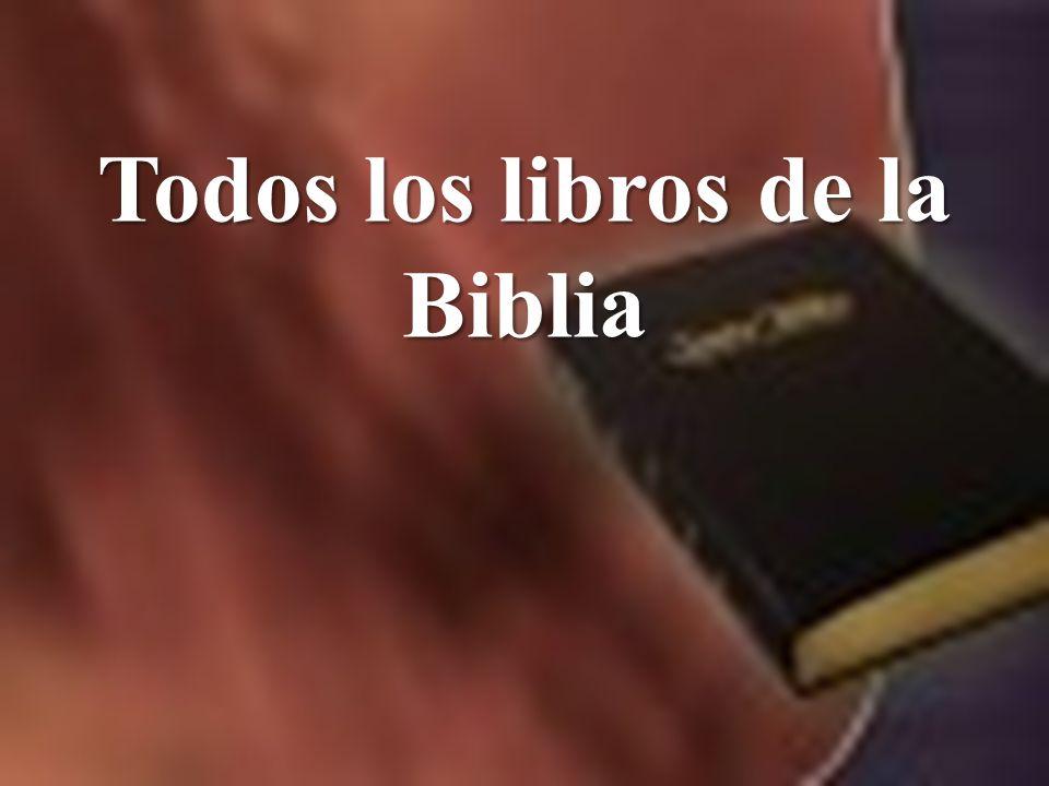Yolanda Vasquez 1 Todos los libros de la Biblia