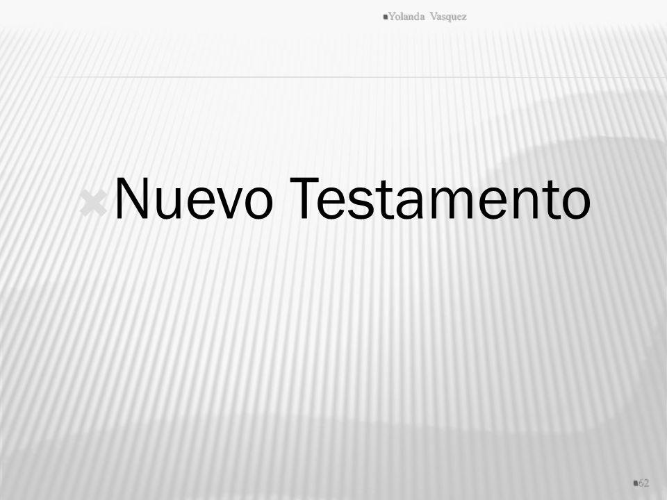 Nuevo Testamento Yolanda Vasquez 62