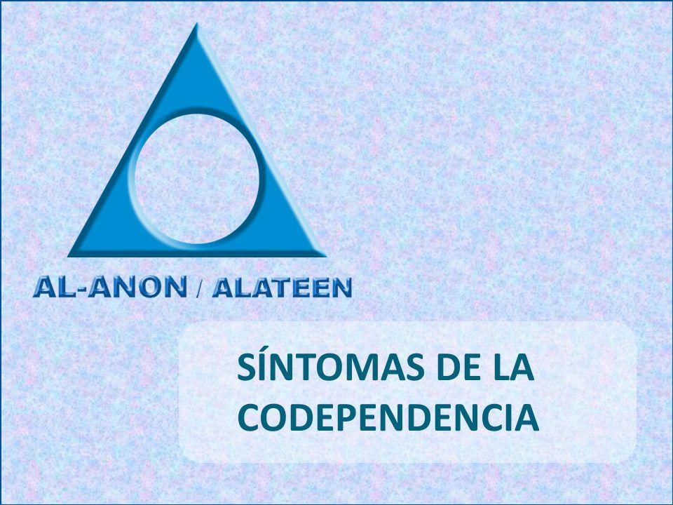 SÍNTOMAS DE LA CODEPENDENCIA