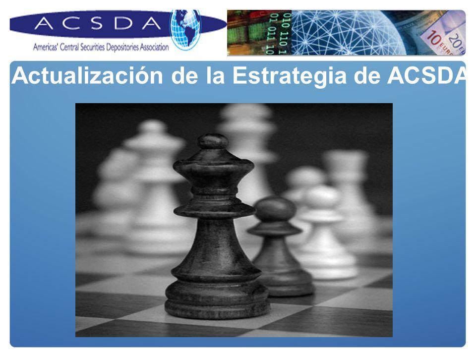 Actualización de la Estrategia de ACSDA