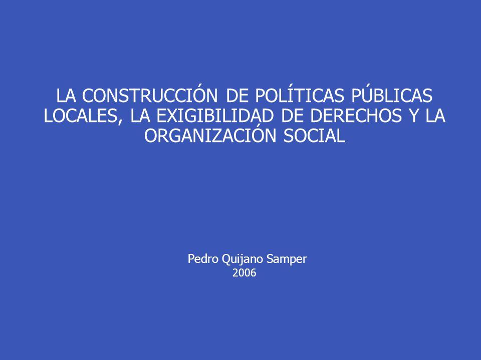 Garantiza que las respuestas que se diseñan sean acordes con los recursos y potencialidades tanto del Estado como de los miembros de la sociedad.
