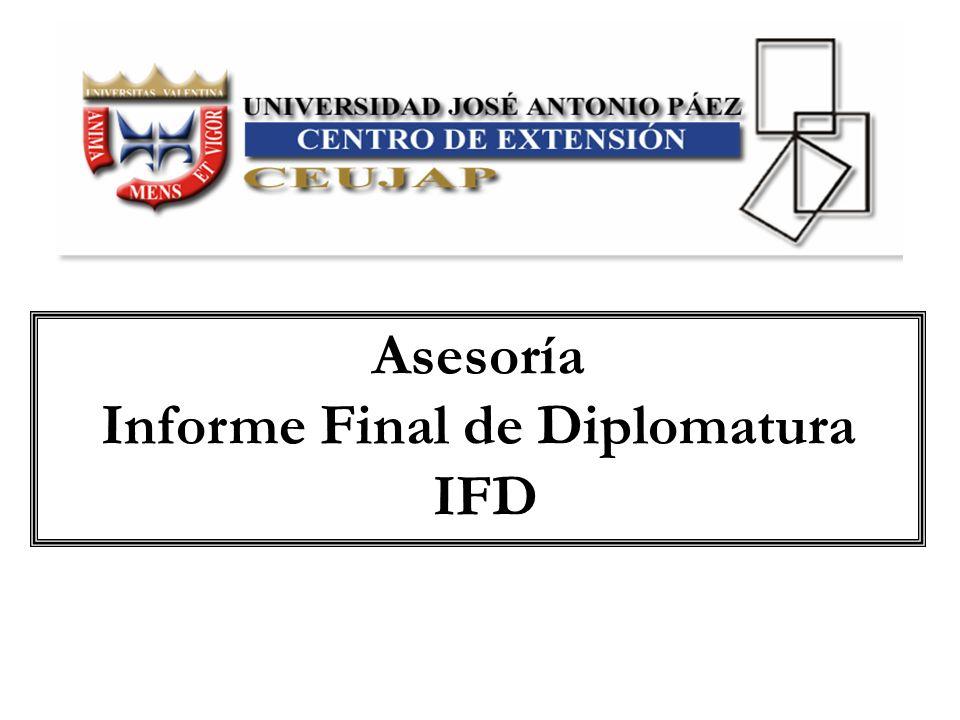 Universidad José Antonio Páez Centro de Extensión Diplomado ………………………….
