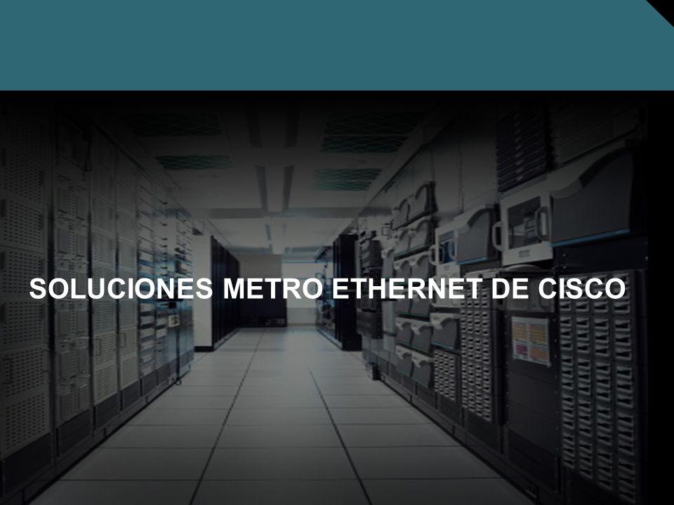 Nº © 2005 Cisco Systems, Inc. Todos los derechos reservados. Cisco Público SOLUCIONES METRO ETHERNET DE CISCO