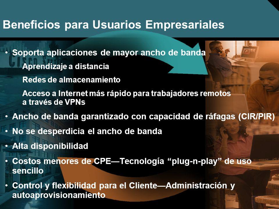 Nº © 2005 Cisco Systems, Inc. Todos los derechos reservados. Cisco Público Soporta aplicaciones de mayor ancho de banda Aprendizaje a distancia Redes