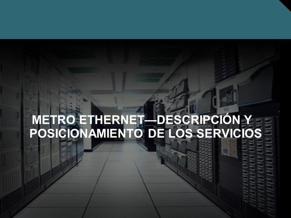 Nº © 2005 Cisco Systems, Inc. Todos los derechos reservados. Cisco Público METRO ETHERNETDESCRIPCIÓN Y POSICIONAMIENTO DE LOS SERVICIOS