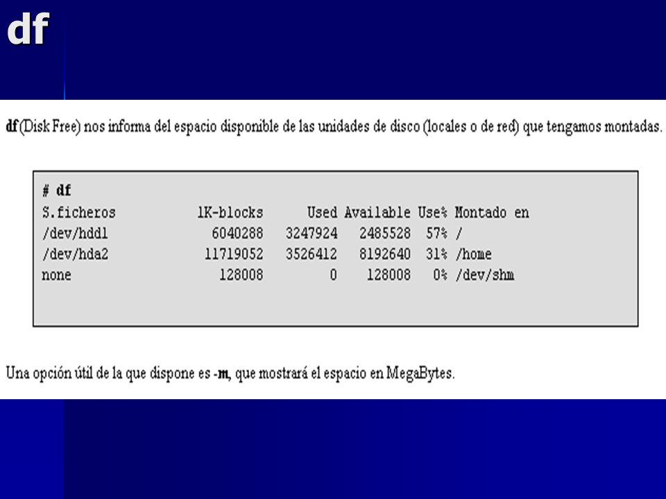 Gestión de memoria RAM El kernel tiende a tomar, primeramente, la memoria que necesitan los procesos que corre.