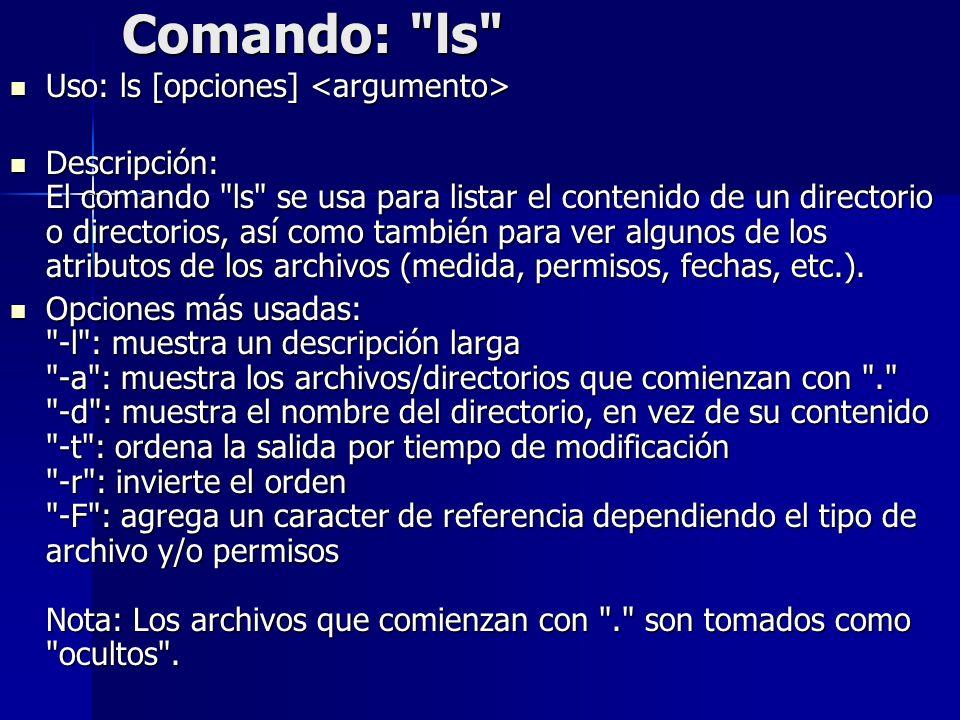 Comando: