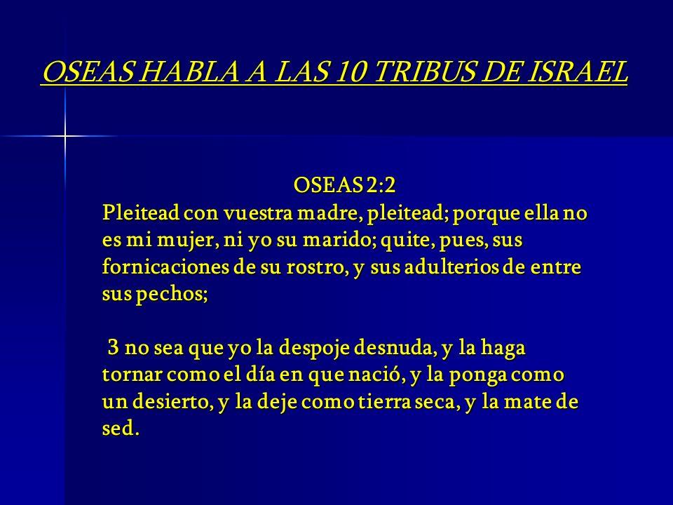 OSEAS 2:2 Pleitead con vuestra madre, pleitead; porque ella no es mi mujer, ni yo su marido; quite, pues, sus fornicaciones de su rostro, y sus adulte