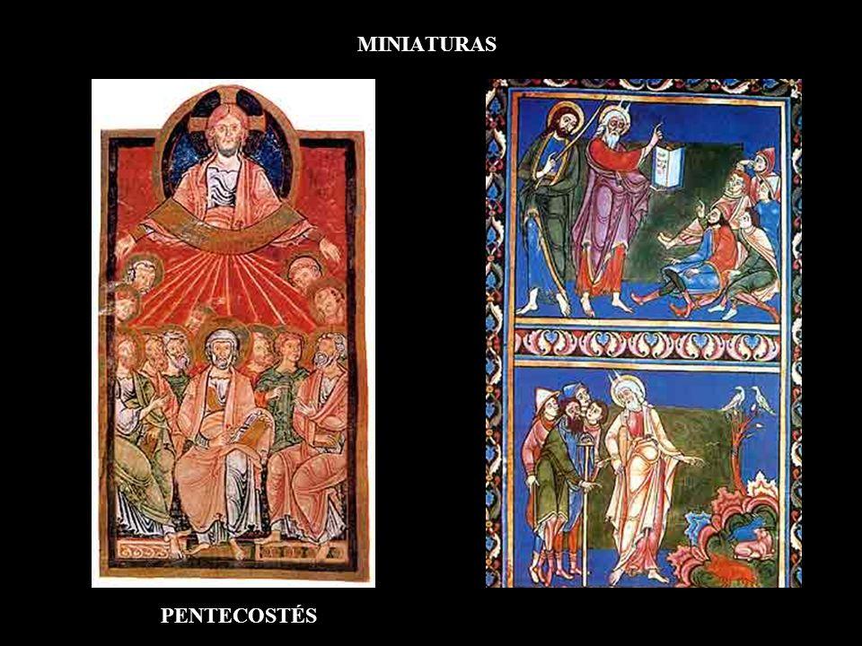 MINIATURAS PENTECOSTÉS