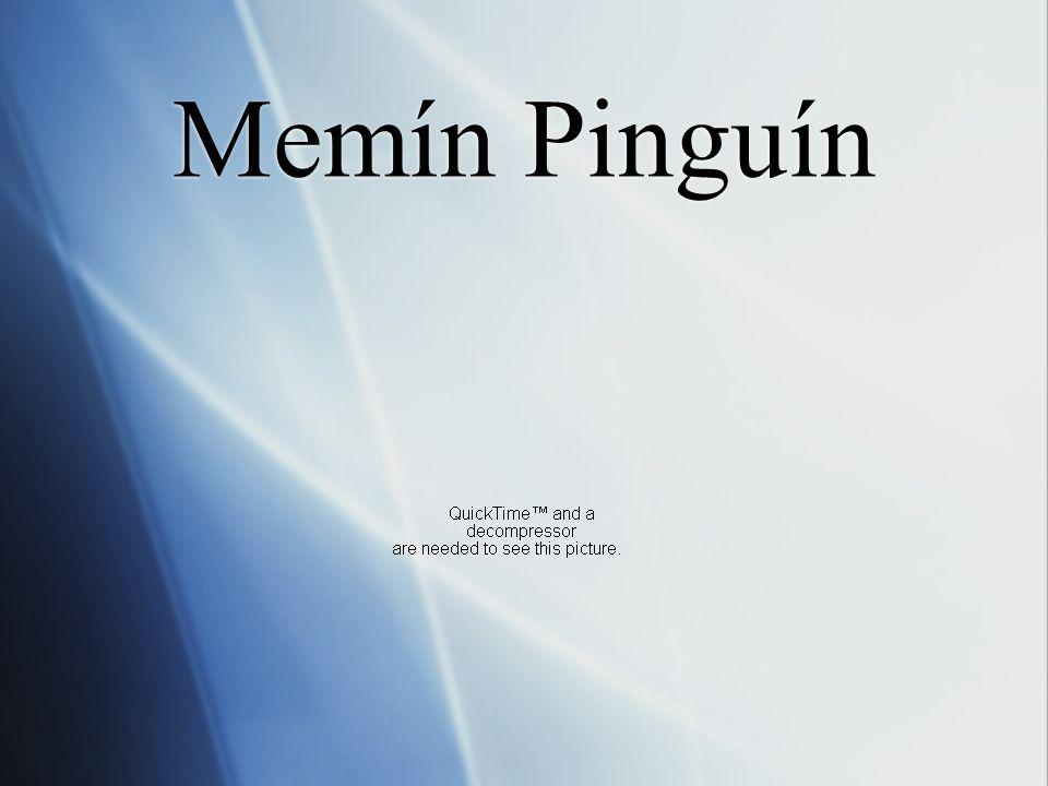 ¿Cómo le llamaban muchos otros niños y yo? Memín Pingüín Memín Pingüín