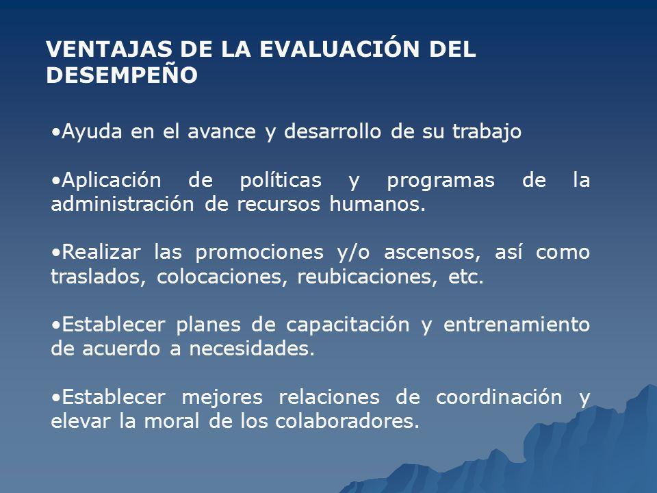 ELEMENTOS CLAVE EN LA Evaluación del Desempeño ESFUERZO.