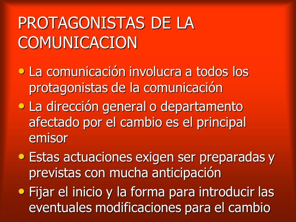 DIFERENCIAS ENTRE COMUNICACIÓN E INFORMACION La comunicación es percepción, crea expectativas y plantea exigencias La comunicación es percepción, crea
