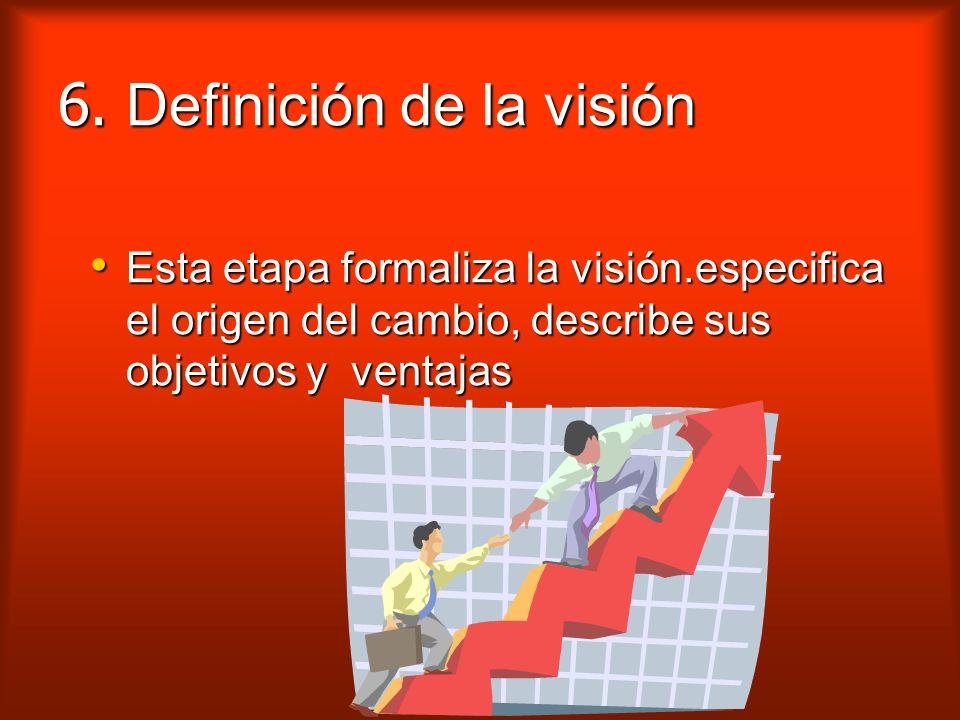 5. Elección de la solución Esta Esta etapa define, a partir de las opciones, la solución que se considera correcta.