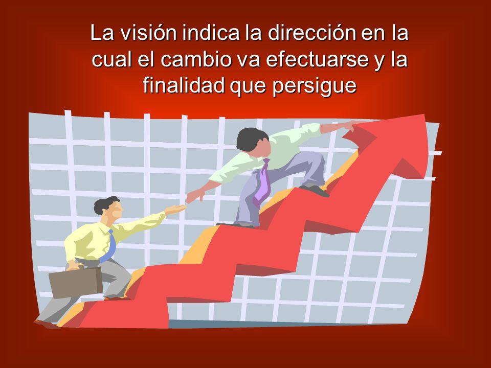 Su finalidad Es definir el objetivo y fijar los elementos así como las características principales del proceso de cambio.