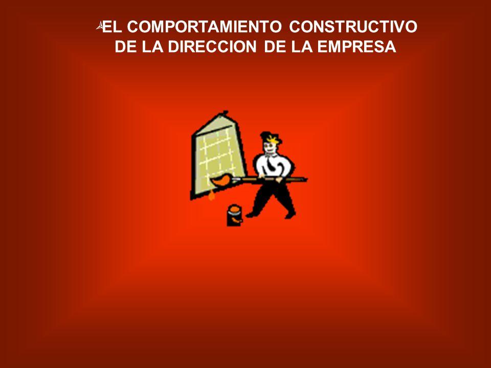 UNA PREOCUPACION CONSTANTE DE LA FASE DE MATERIALIZACION