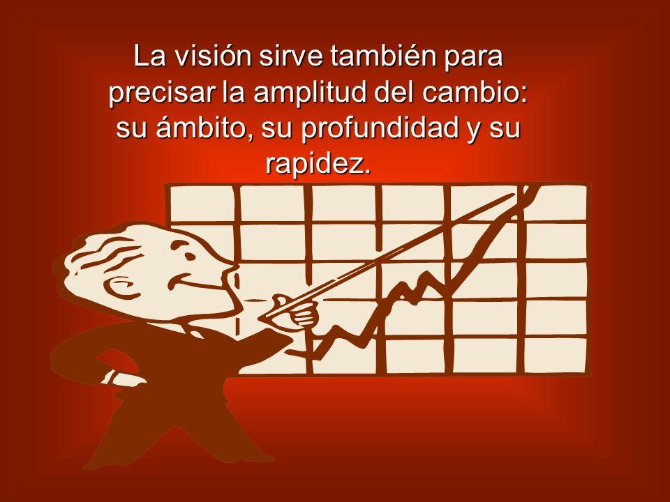EL EQUIPO DE FORMACION La función es asegurar la formación necesaria para la puesta en marcha de la visión