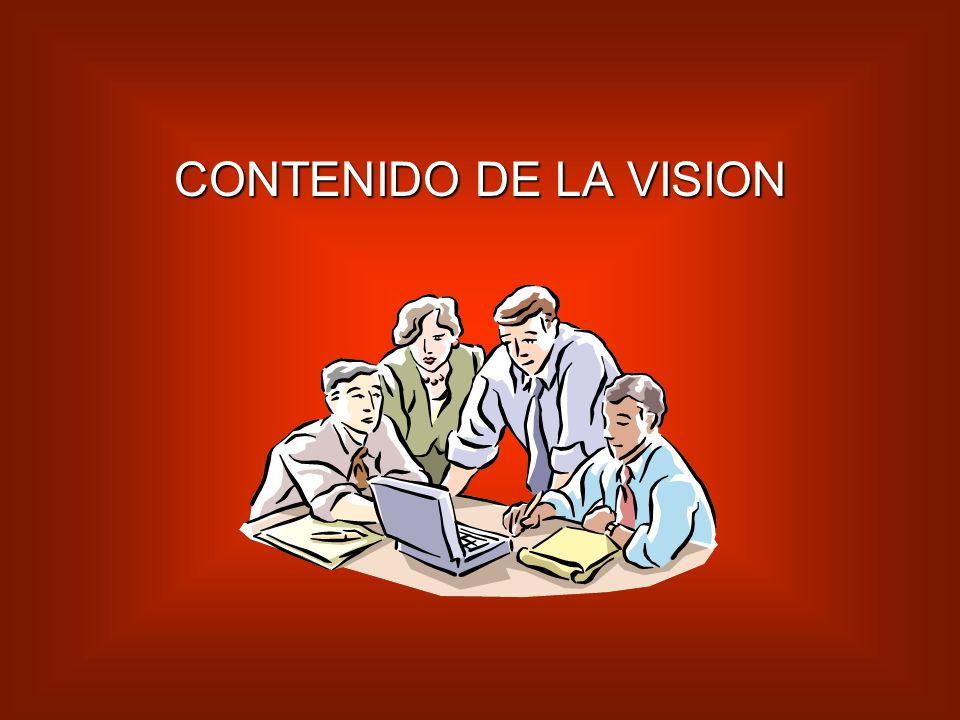 La visión sirve también para precisar la amplitud del cambio: su ámbito, su profundidad y su rapidez.