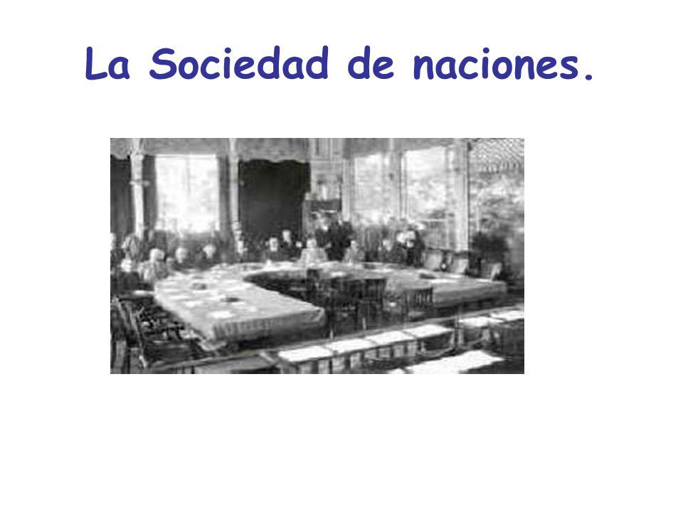 La SDN L a sociedad de naciones (SDN) fue un organismo internacional creado por el tratado de Versalles (conjunto de acuerdos concertados en 1783, al finalizar la guerra de independencia estadounidense firmados en la ciudad francesa de Versalles), el 28 de junio de 1919.