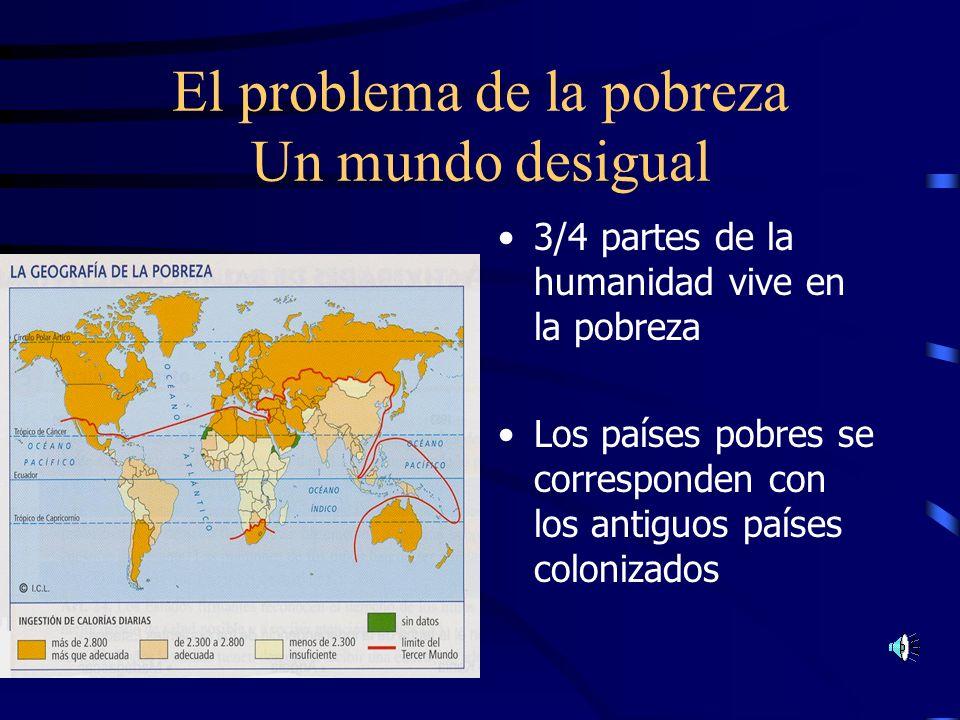 Consecuencias de la descolonización Neocolonialismo Dependencia Económica Financiera Tecnológica Términos para definir los nuevos Estados: Tercer Mund