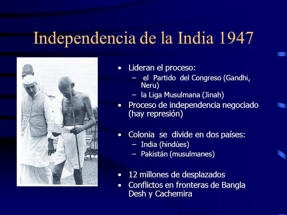 Gandhi 1869-1948 Existen muchas causas por las que estoy dispuesto a morir, pero no existe ninguna por la que esté dispuesto a matar Estudia leyes en