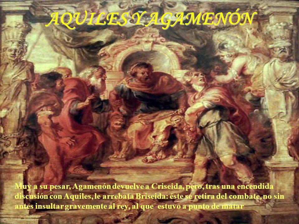 EMBAJADA A AQUILES Canto IX