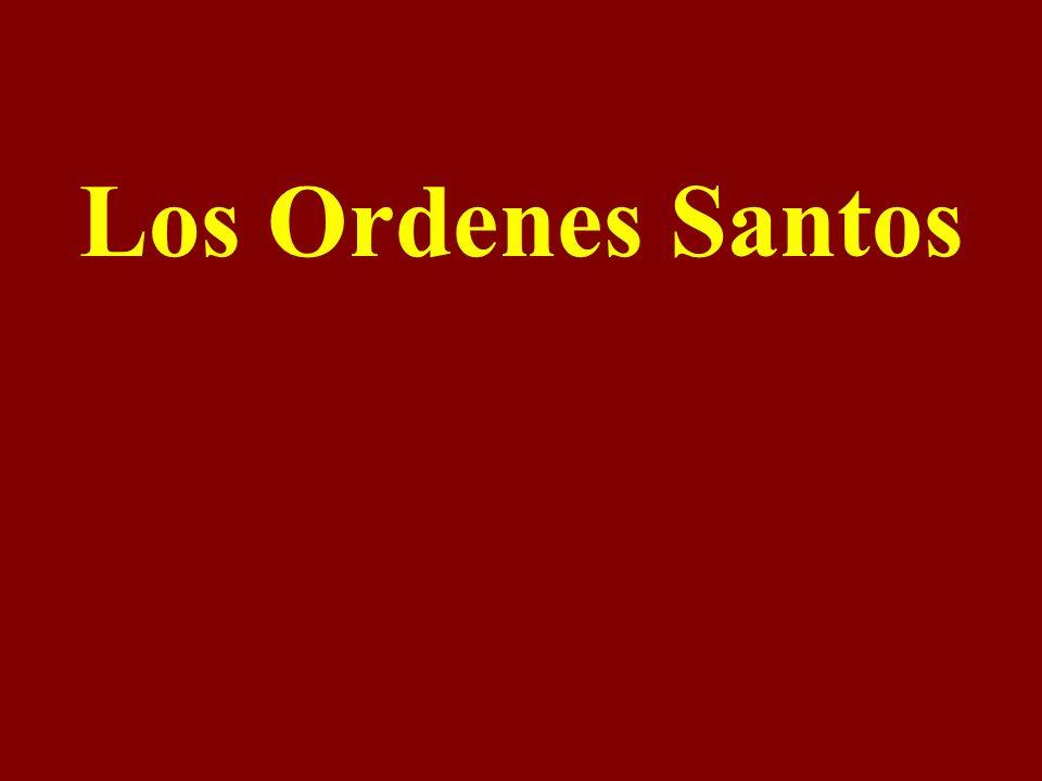 Los Ordenes Santos