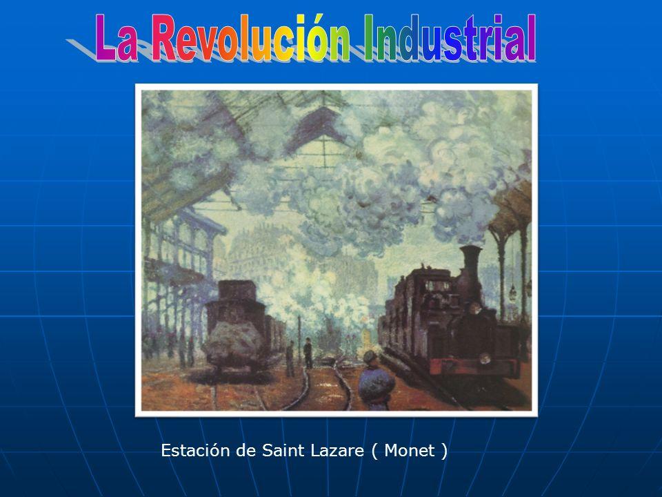 Estación de Saint Lazare ( Monet )