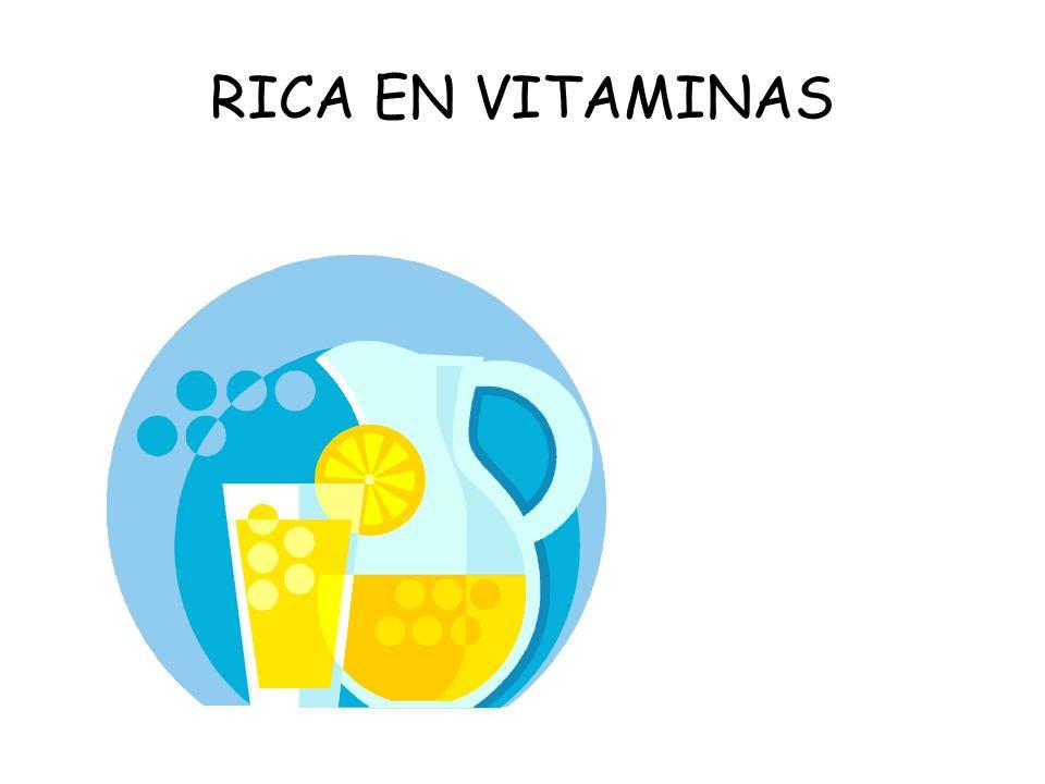 RICA EN VITAMINAS