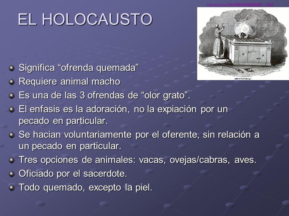 Ministerios EN PROFUNDIDAD 2008 EL DIA DE LA EXPIACION (YOM KIPPUR)