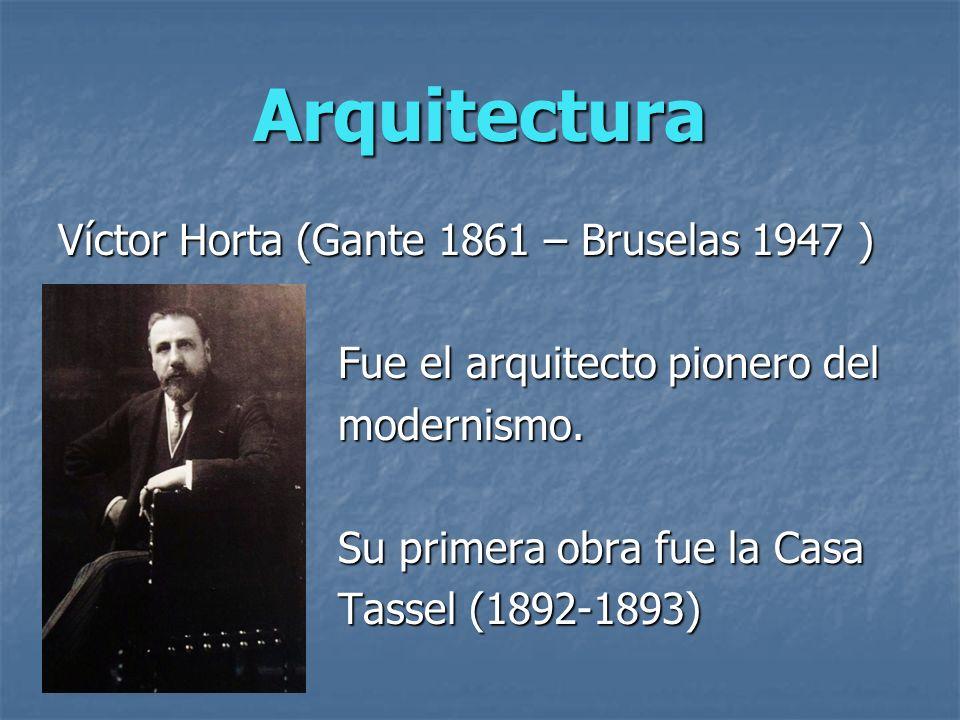 Características de la Arquitectura modernista: Elementos estructurales y decorativos inspirados en vegetales Formas curvas y entrelazadas.