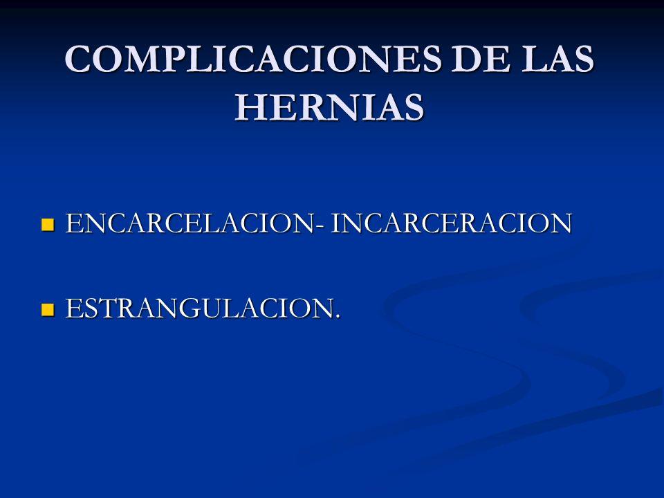 PRONOSTICO DESCONOCIMIENTO DE LA ANATOMIA. DESCONOCIMIENTO DE LA ANATOMIA. TECNICA QUIRURGICA INADECUADA TECNICA QUIRURGICA INADECUADA OBSERVACION DEF