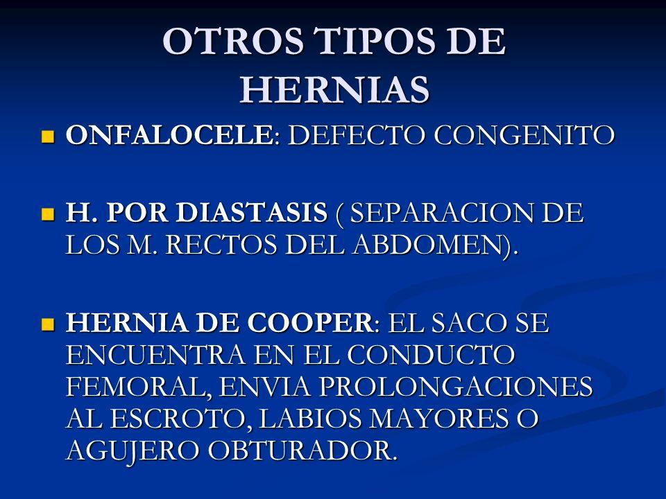 COMPLICACIONES DE LA REPARACION DE LAS HERNIAS. SEROMA. SEROMA. HEMATOMA. HEMATOMA. DEHISCENCIA DE LA HERIDA EN PIEL Y FASCIA. DEHISCENCIA DE LA HERID