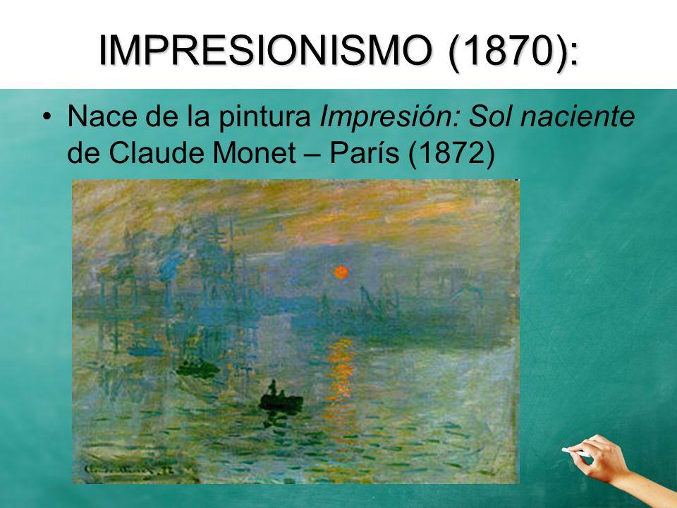 Impresionismo realista Naturalismo / Realismo poético Manifiesto: El teatro debe intentar capturar el momento a través de la emoción, la disposición y la atmósfera.