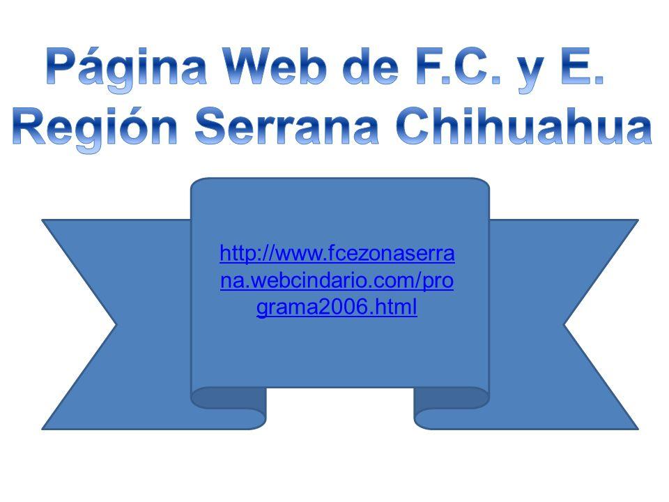 http://www.fcezonaserra na.webcindario.com/pro grama2006.html
