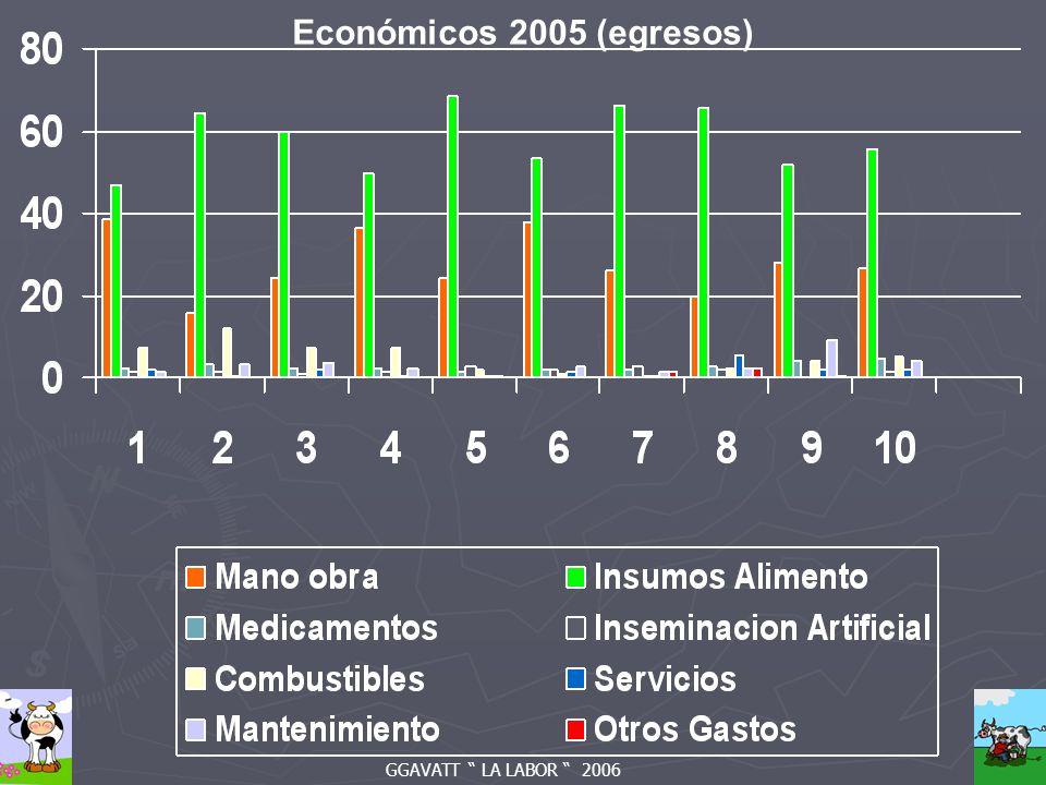 GGAVATT LA LABOR 2006 Económicos 2005 (egresos)