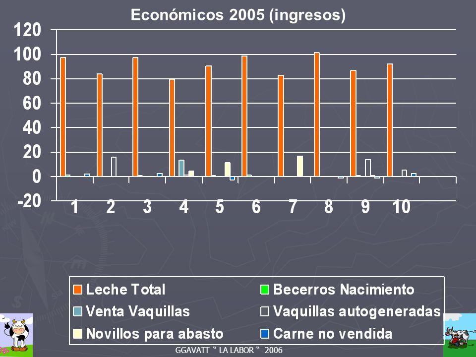 GGAVATT LA LABOR 2006 Económicos 2005 (ingresos)
