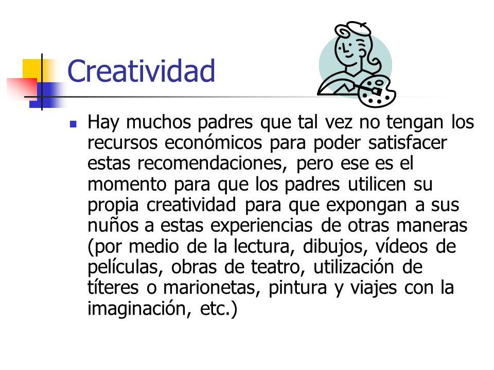 Creatividad ¿Porqué es importante que nuestros hijos sean creativos.