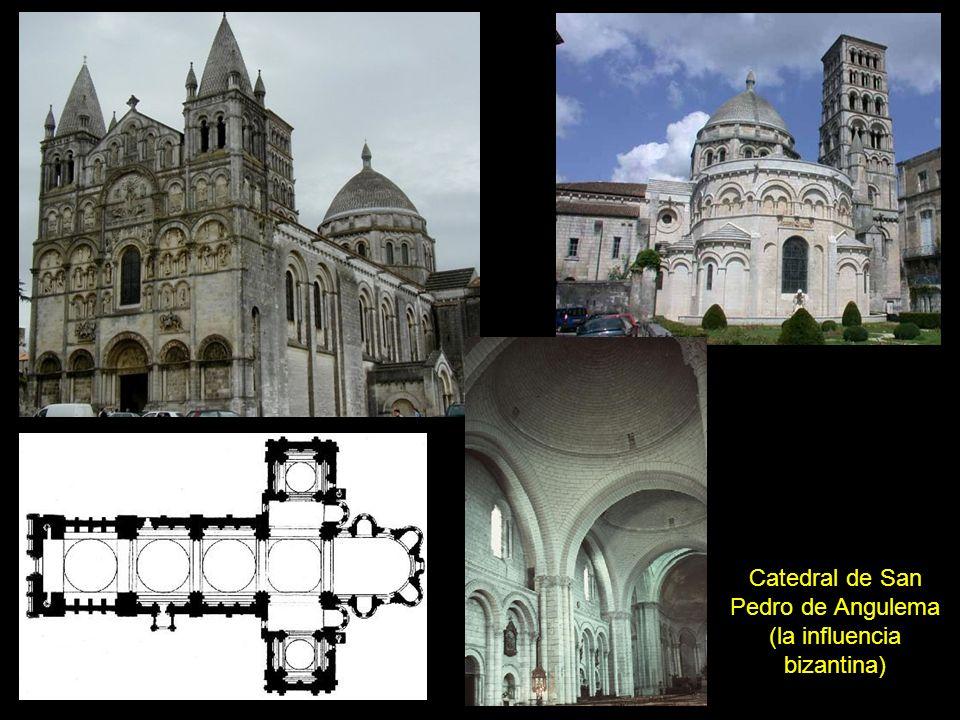 Catedral de San Pedro de Angulema (la influencia bizantina)
