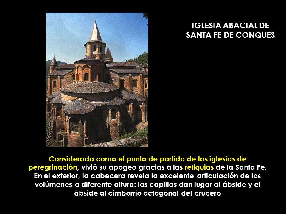 EL MODELO MÁS ACABADO DE IGLESIA DE PEREGRINACIÓN BASÍLICA DE SAINT SERNIN DE TOULOUSE (1080-1120)
