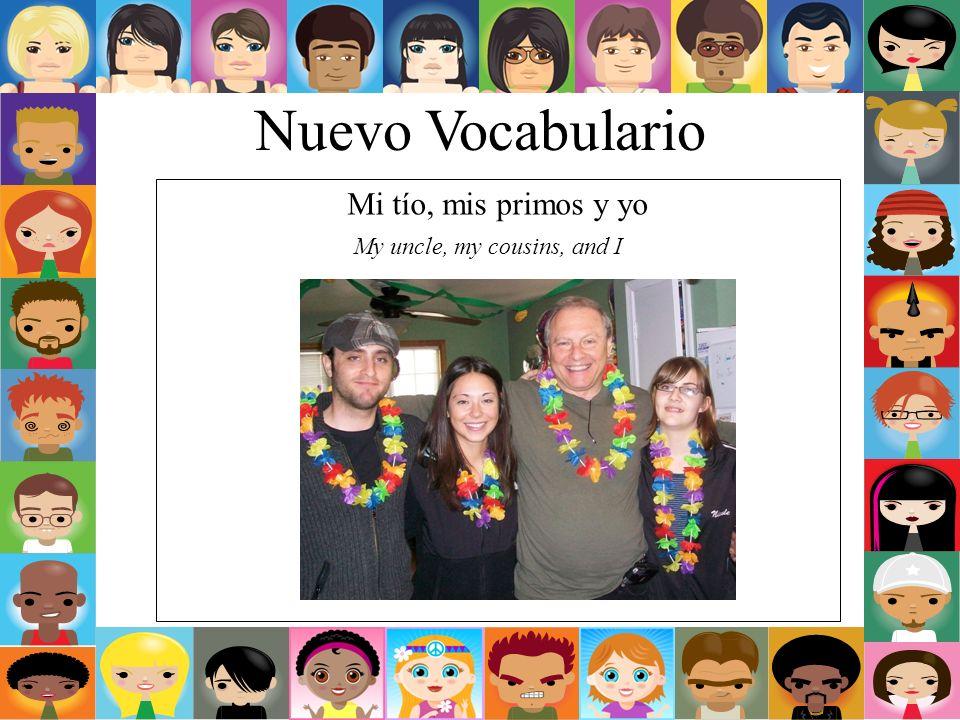 Nuevo Vocabulario Mi otro tío My other uncle