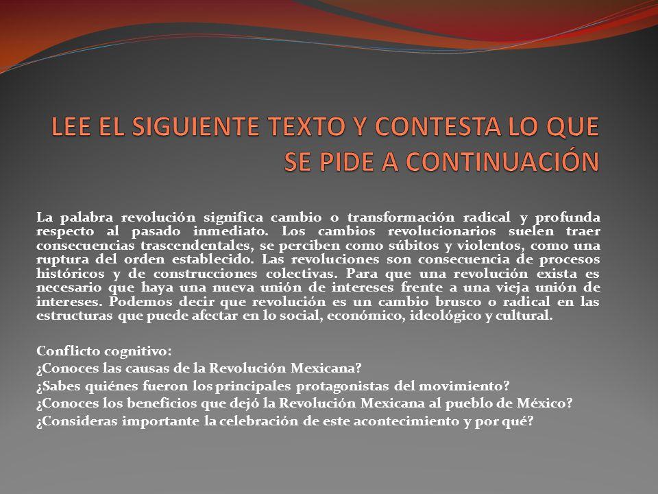 1.-MAPA MENTAL que incluya las causas que dieron origen aI la Revolución Mexicana.